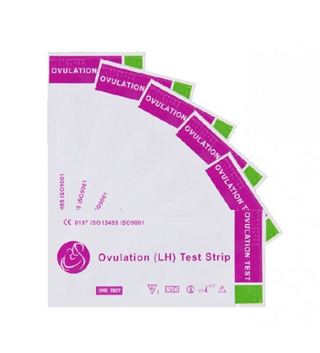 5 Units Pack of Ovulation Test Strips 15MIU/ml