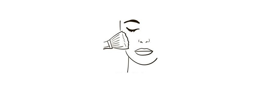 Blush e Pós para rosto
